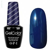 Гель лак OPI GelColor Road House Blues (Чернильно-синий) T32