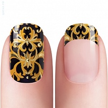 Dashing Diva, Арт Стикеры DesignFX NEW & IMPROVED №20 - STRIKING GOLD DFX068